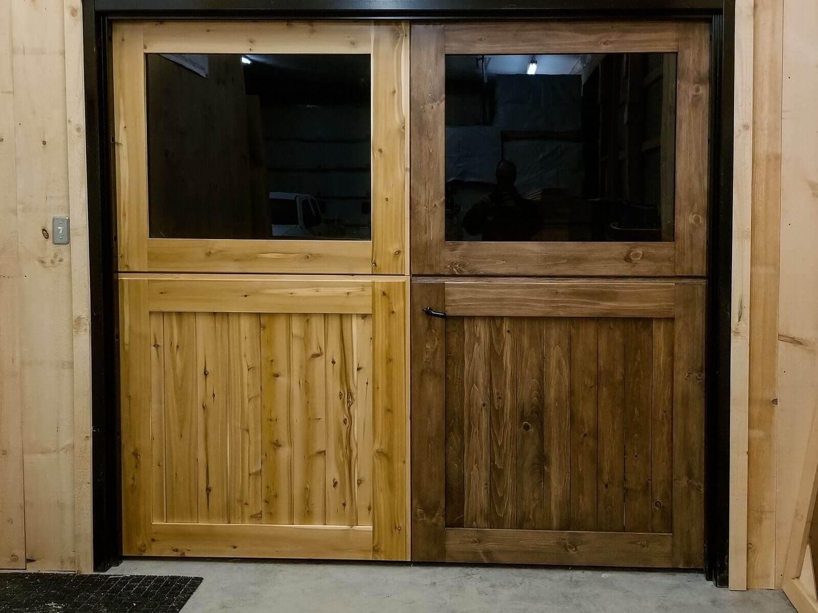 horse barn double dutch doors canada