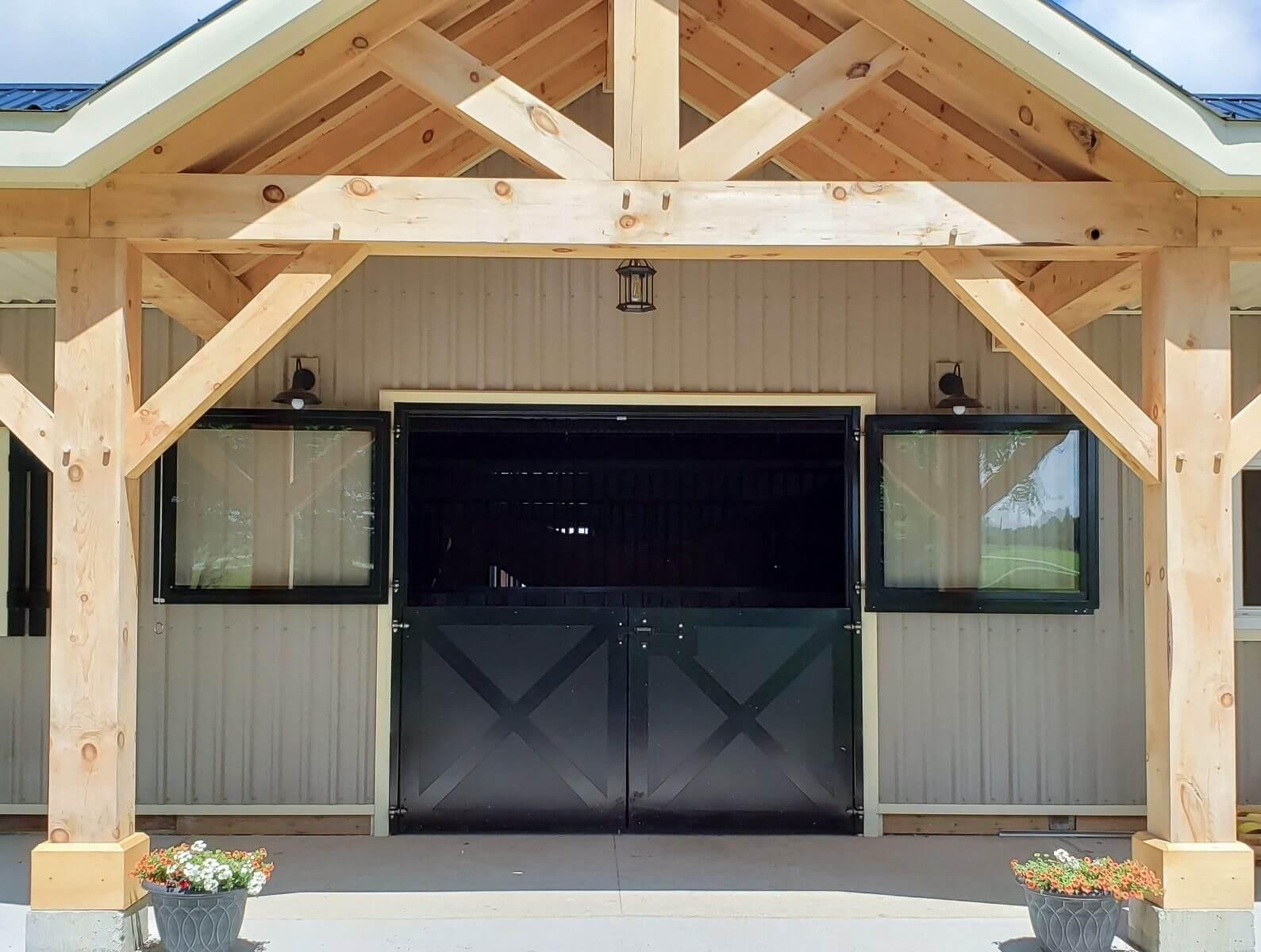 horse barn double dutch doors florida