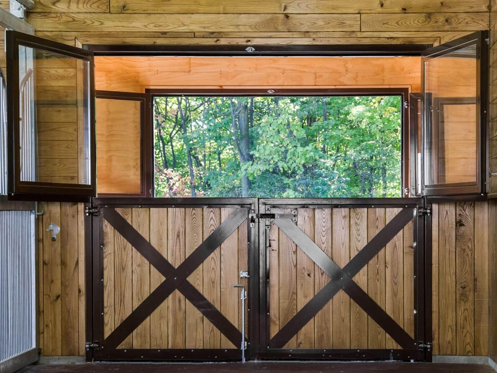 horse-barn-double-dutch-door-brown-wood